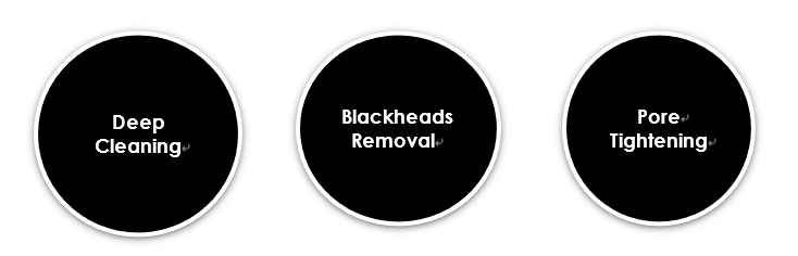 OEM/Private labeling Charcoal Peel-Off Mask For Blackheads Removal